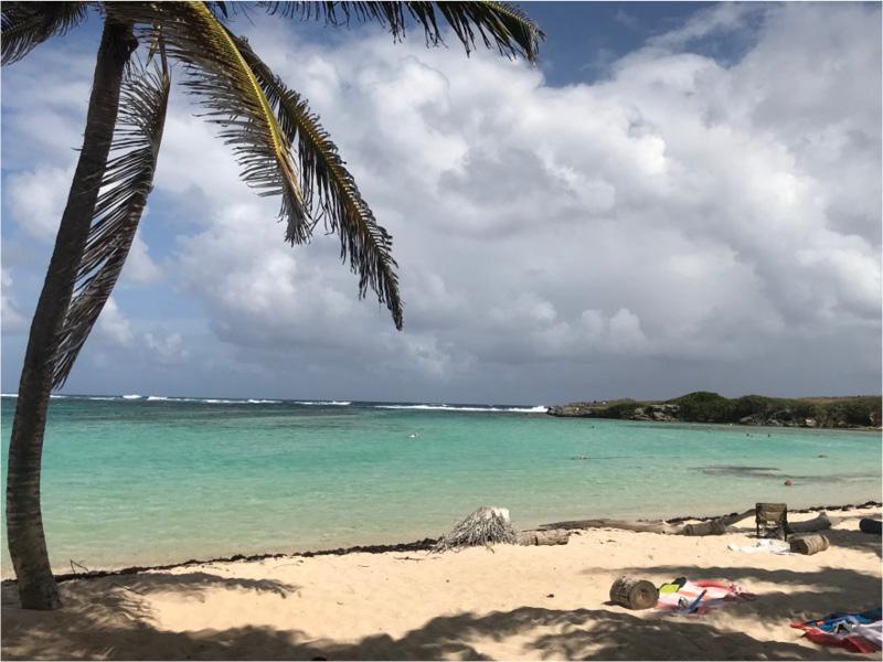 plage ile sauvage eau turquoise