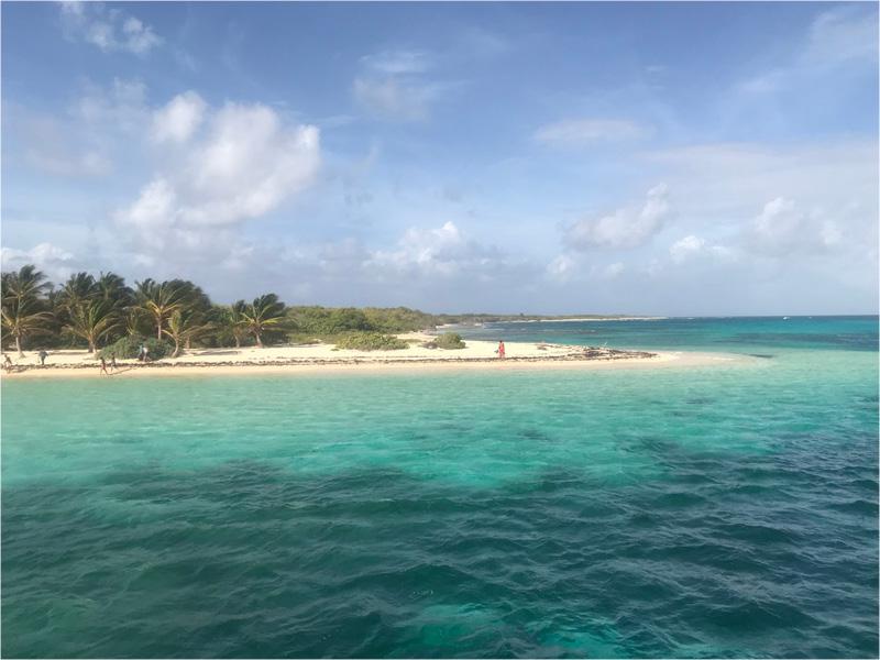 vue ile mer turquoise